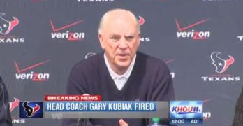 Gary Kubiak, Texans Head Coach Fired After Loss To The Jaguars (VIDEO)