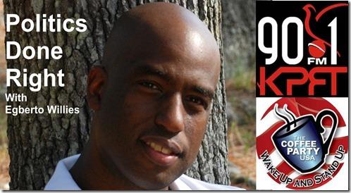 Politics Done Right,KPFT,90.1 FM,Egberto Willies,Obamacare