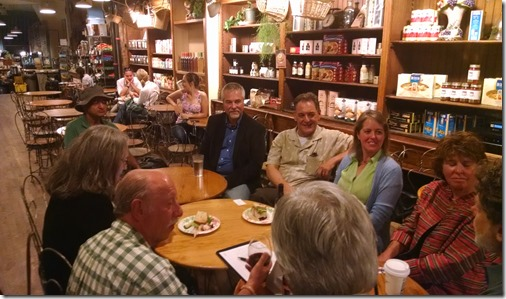 Coffee Party USA Denver, Debilyn Molineaux, Egberto Willies, Jeanene Louden