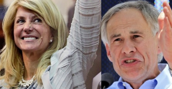 Wendy Davis Greg Abbott