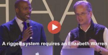 Lawrence Lessig & Van Jones on a rigged system Elizabeth Warren 4