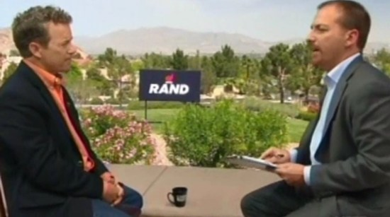 Rand Paul Interview with Chuck Todd