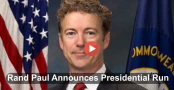 Rand Paul announced for Presidency