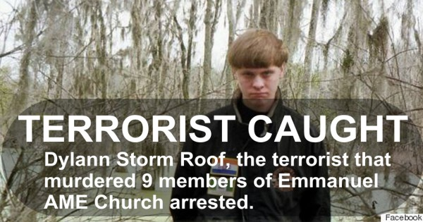 Ame Church Terrorist Dylann Roof Arrested Video