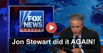 Jon Stewart calls out Fox News complaints about Charleston narrative using their own footage (VIDEO)
