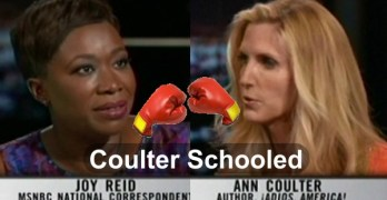 Joy Ann Reid schools Ann Coulter on Real Time with Bill Maher