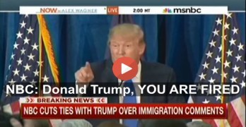 NBC fires Donald Trump for his anti-immigrant comments