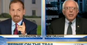 Bernie Sanders stops Chuck Todd cold when he tries to spin a false narrative.