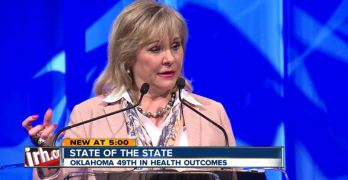 Oklahoma Governor unable to identify the three branches of our government (VIDEO)