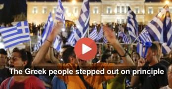 Greek Greece Vote