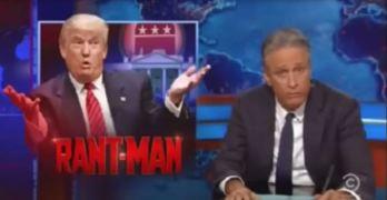 Jon Stewart ridiculed Donald Trump for attacking John McCain (VIDEO)