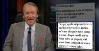 Bill Maher excoriates the rich