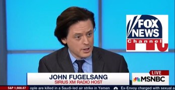 John Fugelsang, Donald Trump, Fox News, Republican Party, GOP, White nationalist,