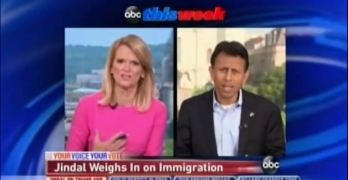 ThisWeek Martha Raddatz taken aback by Bobby Jindal dismissal of immigrant heritage (VIDEO)