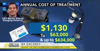 CEO Martin Shkreli immorally huge drug price hike shows danger of unfettered capitalism