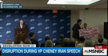 Dick Cheney, Code Pink