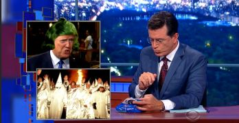 Watch Stephen Colbert OD on Donald Trump in under 3 minutes (VIDEO)