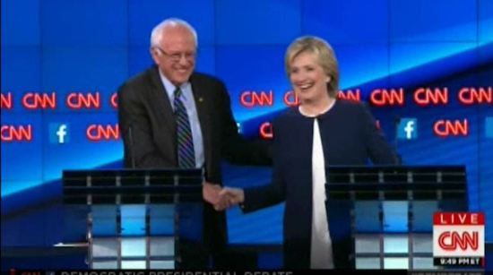 Bernie Sanders and Hillary Clinton - Best 3 minutes of the Democratic Debate