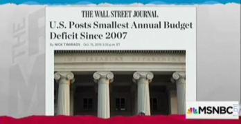 Rachel Maddow Budget Deficit