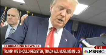Donald Trump wants to register all American Muslims