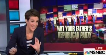 Rachel Maddows inadvertently issues a warning to Democrats about losing.