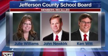 School Board recalled Colorado Jefferson County Right Wing Progressives