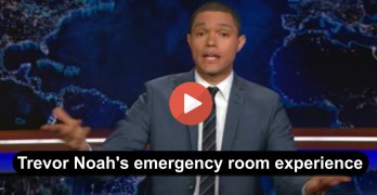 The Daily Show's Trevor Noah rips U.S. healthcare system after his medical scare/surgery this week (VIDEO)