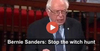 Bernie Sanders slams GOP for Planned Parenthood witch hunt (VIDEO)