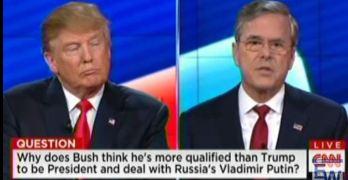 Jeb Bush - Donald Trump