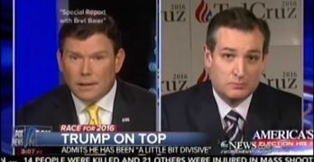 Ted Cruz caught lying and gets tongue tied backtracking.