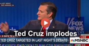 Ted Cruz Implodes