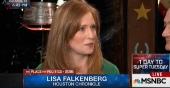 Hardball's Chris Matthews smitten by Pulitzer winning journalist Lisa Falkenberg (VIDEO)