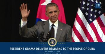 President Obama Delivers Remarks to the People of Cuba.