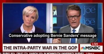 Scarborough slams GOP and adopts Bernie Sanders message (VIDEO)