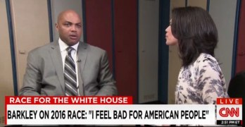 Charles Barkley's take on 2016 Presidential election mostly on point (VIDEO)