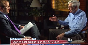 Even a Koch Brother is scare of a Republican Presidency