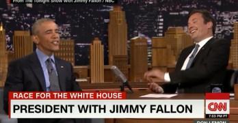 President Obama Jimmy Fallon