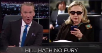 Bill Maher: Hillary Clinton should run as the notorious HRC (VIDEO)