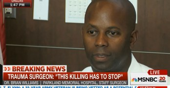 Black surgeon who care for Dallas police says he fears them (VIDEO)