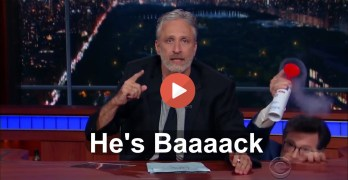 Jon Stewart to Republicans - 'This country isn't yours. You don't own it' (VIDEO)