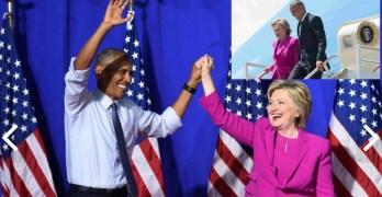 President Obama Hillary Clinton
