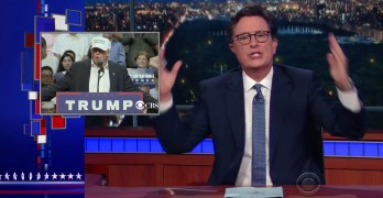 Stephen Colbert ridicules Donald Trump's appeal to black voters (VIDEO)