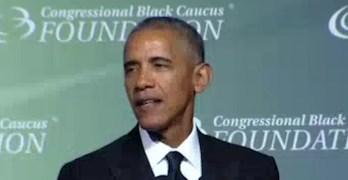 Obama speech at Congressional Black Caucus Foundation Dinner (VIDEO)