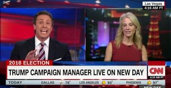 CNN's Cuomo slams Conway for Trump's refusal to accept election outcome (VIDEO)