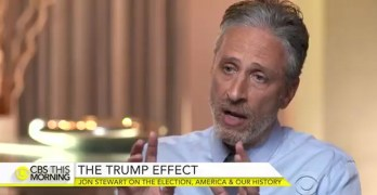 Jon Stewart on the question Trump never asked and a reality check (VIDEO)