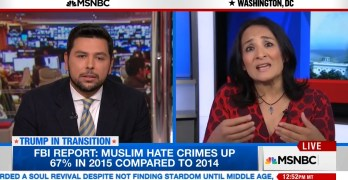 MSNBC Host grills Muslim Trump voter as she blames the aggrieved (VIDEO)