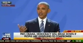 Obama calls out social media fake news as a threat to democracy (VIDEO)