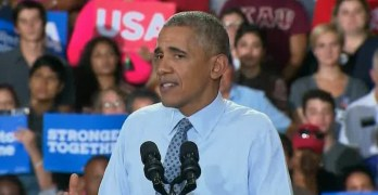 President Obama softly admonished male sexism for some of Hillary polls (VIDEO)