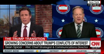 CNN host destroys Trump spokesman's attempt to lie about a Trump landslide (VIDEO)