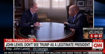 Famous member of congress does not see Trump as a legitimate president (VIDEO)